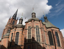 Riddarholmskyrkan (церковь), Riddarholmen Riddarholmen, Стокгольм Стоковое Фото