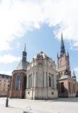Riddarholmskyrkan (церковь), Riddarholmen Riddarholmen, Стокгольм Стоковые Фотографии RF