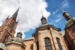 Riddarholmskyrkan (церковь), Riddarholmen Riddarholmen, Стокгольм Стоковые Фото