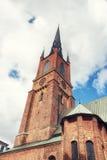 Riddarholmskyrkan (церковь), Riddarholmen Riddarholmen, Стокгольм Стоковое Изображение RF