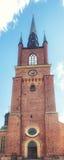 Riddarholmskyrkan (церковь), Riddarholmen Riddarholmen, Стокгольм Стоковая Фотография