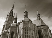 Riddarholmskyrkan. Стоковые Фотографии RF