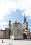 Riddarholmskyrkan (Riddarholmen Church), Riddarholmen, Stockholm Royalty Free Stock Photos