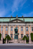 Riddarhuset building in Stockholm. Royalty Free Stock Images
