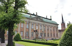 Riddarhuspalatset Стоковое Изображение RF