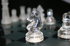 Ridder binnen een ridder Stock Foto's