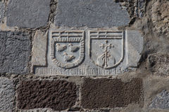 Ridder Symbols Royalty-vrije Stock Foto