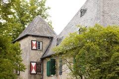 Ridderlijk kasteel Royalty-vrije Stock Foto
