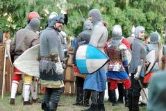 Ridders royalty-vrije stock afbeeldingen