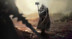ridders stock afbeelding