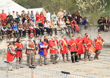 ridders royalty-vrije stock afbeelding