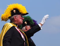 Ridders van Columbus In-k-Dagen Parade stock afbeeldingen