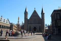 Ridderzaal,海牙,荷兰 库存图片