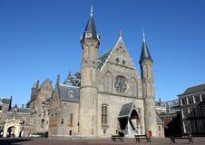Ridderzaal, Binnenhof,小室Haag,荷兰 免版税库存图片