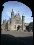 Ridderzaal, Binnenhof, L'aia fotografie stock libere da diritti