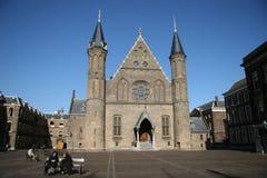 Ridderzaal (de Zaal van Ridders) Stock Foto's