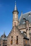 Ridderzaal do Binnenhof em Den Haag fotografia de stock