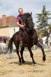 ridding för häst Royaltyfri Foto