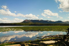 Riddle lake Stock Images