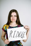 Riddle Stock Images