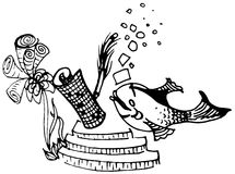 Riddler fisk Royaltyfria Bilder