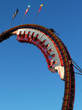 Ride. An amusement park ride Stock Images
