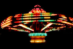 Ride. A picture of a ride taken at a local fair Royalty Free Stock Image