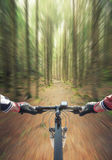 Ride on bicycle Stock Images
