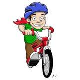 Ride bike stock photography