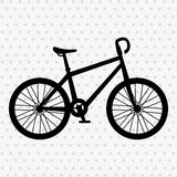 Ride bike design Stock Image