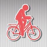 Ride bike design Royalty Free Stock Photography