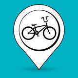 Ride bike design Royalty Free Stock Images