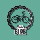 Ride bike design Stock Photos