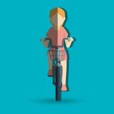 Ride bike design Royalty Free Stock Photo
