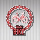 Ride bike design Royalty Free Stock Photos