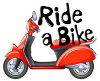 Ride a Bike Royalty Free Stock Images