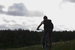 Ride bike stock photos