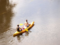 Ride on a boat Royalty Free Stock Photo