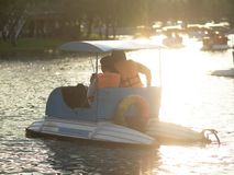 Ride boat royalty free stock images