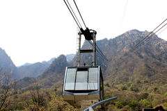Ride the cable car Stock Photography