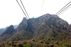Ride the cable car Royalty Free Stock Photos