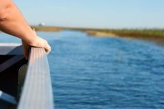 Ride through the Everglades Stock Photo