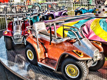 Ride at a fair Stock Images