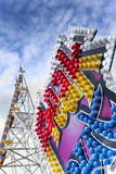 Ride in a fairground Royalty Free Stock Photo