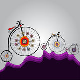 Ride of happiness around the world Royalty Free Stock Photo