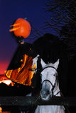Ride of the Headless Horseman Stock Images