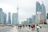 Ride for Heart in Toronto Stock Photos
