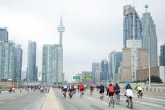 Ride for Heart in Toronto Stock Photos