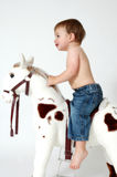Ride the Horse Stock Images