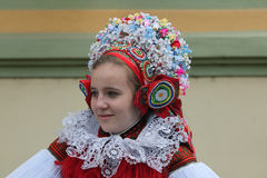 Ride of the Kings folklore festival in Vlcnov, Czech Republic Stock Image